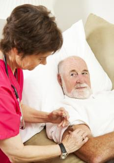 Home nursing refers to nursing care that is provided in a home environment.