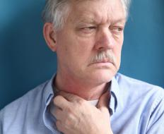 Damage to the esophagus can cause extreme pain and difficulty swallowing.
