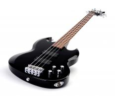 New Wave music relies heavily on electronic instruments such as electric guitars.