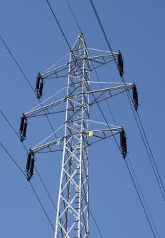 Transmission line engineers set up the design of power lines and electrical power systems.