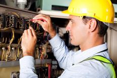 Variable power supply is a regulator that electricians use to test the capacity of voltage for a completed project.