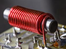 The wire in an electromagnet is often made with a coil winder.