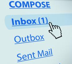 Company websites may host email accounts for employees.