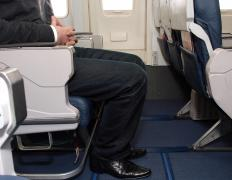 Cramped seating is only one factor in the development of economy class syndrome.