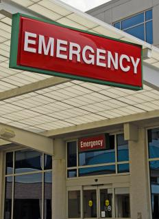 Emergency departments employ emergency physicians.