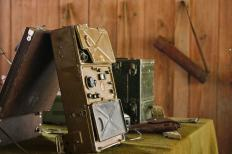 In World War II, the German Enigma machine was used for U-boat communications.