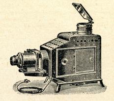 An epidiascope is a type of projector that was developed in the early 20th century.