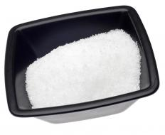 Epsom salt, which can be used to make an enema.