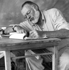 "Ernest Hemingway's, ""Old Man and the Sea"" is a novella."