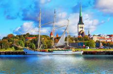 Estonia might be visited on a northern European cruise.