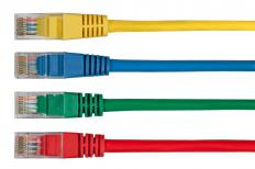 Cat5 cable, which is used with networks.
