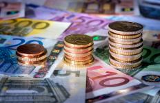 The euro is one of the most common currencies.