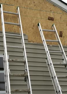 Extension ladders are adjustable in length, and generally easy to move and store.