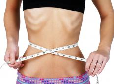 Individuals who have eating disorders typically suffer from low self-esteem.