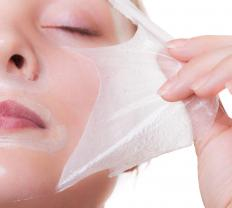 An enzyme peel helps remove dead skin cells.