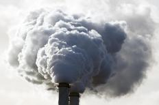 Carbon markets are intended to limit air pollution from sources like factories.