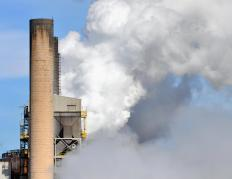 Cap and trade sets a limit on the amout of greenhouse emissions produced by a company.