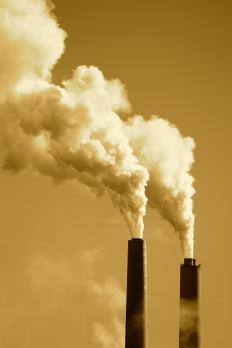 Air pollution contributes to the depletion of the ozone layer.