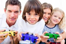 Parents can spend time playing video games with their kids during summer vacation.