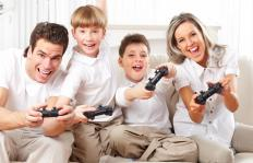 Most exercise-based video games are suitable for the whole family.