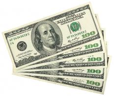 Cash is included in a person's total net worth.