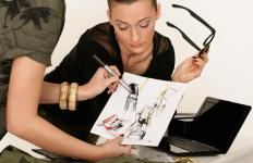 Fashion designers rely on illustrators to bring their ideas to life with their art skills.
