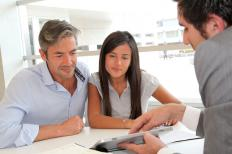 A guarantor or co-signer agrees to make payments on a loan if a borrower cannot make them.