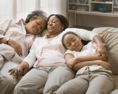 Research has found that taking regular naps may reduce stress and lower cortisol levels.