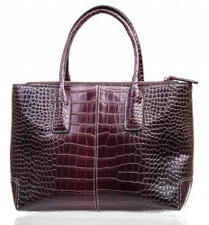 Leather totes can carry large items like laptops, in addition to personal belongings.
