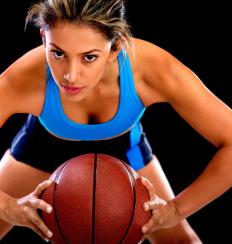 A sport created for women, netball has many similarities to basketball.