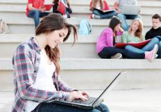 WiMax might be available for students on a college campus.