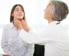 An overactive thyroid gland may cause postural tremors.