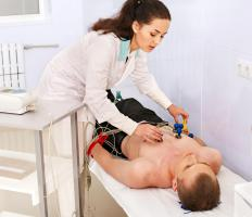A dobutamine stress test can be performed with an electrocardiogram.