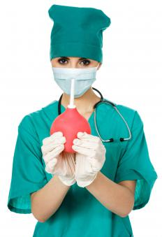 Retention enemas may be administered in a medical setting under the supervision of a doctor.
