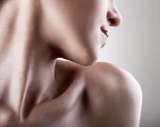 Fair skin is naturally light and glows when healthy, so shimmery bronzes are a good choice.