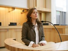 Human factors experts can be called upon to testify in court.