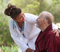 Assisted living combines the independence of living at home with the on-site medical care of a nursing home.