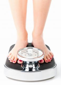 A small amount of weight gain can be expected after a hysterectomy.