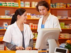 Pharmacies typically employ data entry personnel.