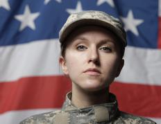 """Brass ceiling"" is the term used to describe the difficulty women have in trying to rise up in the ranks of the military."
