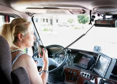 Using a good CB radio microphone can make communications a lot better.