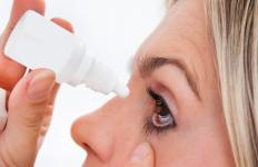 Eye drops may be helpful for treating CVS.