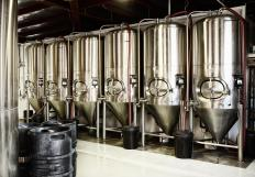 Microbreweries are smaller-scale operations compared to large national breweries.