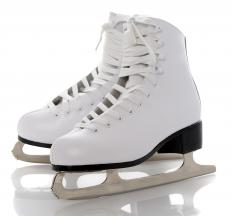 Many Olympic sports use ice skates.