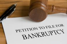 A receivership often occurs as a result of a bankruptcy filing.
