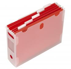 Polypropylene file holder.