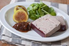 Made by force feeding ducks or geese, terrine is said to be produced through animal cruelty.