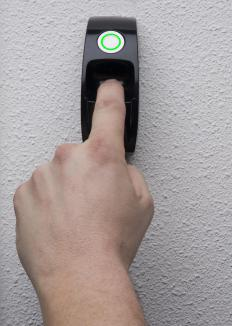 Some biometric safes may use fingerprint scanning technology.