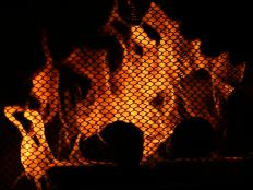 Wire mesh is often used to make safety devices like fireplace screens.