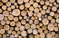 Kiln dried firewood has been seasoned by drying in a kiln.